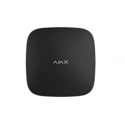 Ajax-Hub2 Mehr schwarz - Zentrale, alarm-IP / WIFI-3G/4G