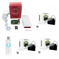 Jeedom automatisme - Pack Raspberry Pi 3 Z-Wave PLus Fibaro FGR-223