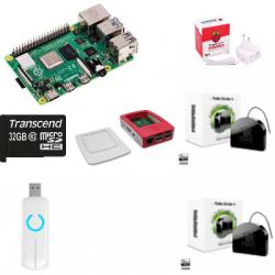 Jeedom Fibaro automatisme - Pack Raspberry Pi 4 Z-Wave PLus FGR-223