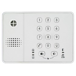 HONEYWELL global knowledge partnership-S8M - Keyboard with built-in siren