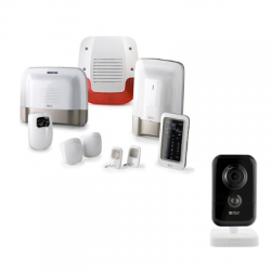 Delta Dore TYXAL+ VIDEO - Pack alarme TYXAL+ VIDEO avec caméra Intérieure