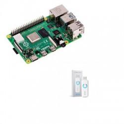 Raspberry Pi 4 - Raspberry Pi 4 4gb Aeotec ZW090-C Z-Wave More