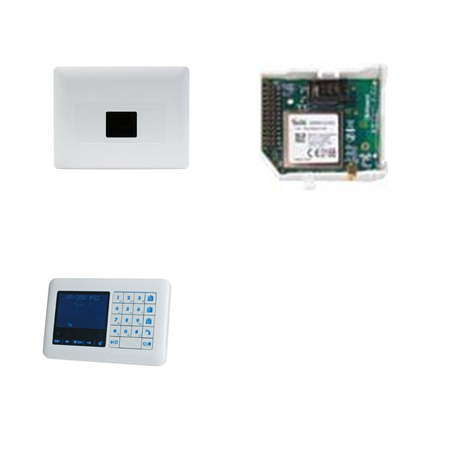 Alarme PowerMaster 33 EXP G2 - Centrale alarme PowerMaster 33 EXP IP avec clavier
