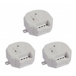 kit of 3 modules CHACON 54751 wireless receiver for motorisation