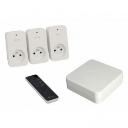 DIO ED-GW-08 - Pack de automatización del hogar, conectado módulo de iluminación