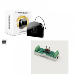 Fibaro FGS-223 - Fibaro modulo doppio interruttore Z-Wave Plus DIN-rail
