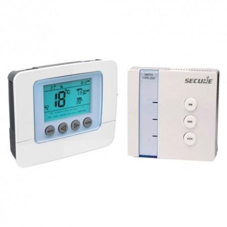 Pack thermostat électronique programmable récepteur Z-Wave SECURE