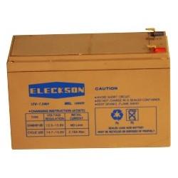 Alarme - Batterie Eleckson 12V 7.2 Ah L 151 X l 65 X HT 94