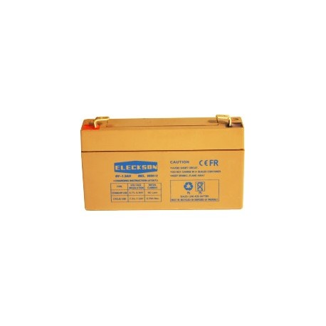 BATTERY 6V-1.3 AH L 97 X W 24 X HT 51