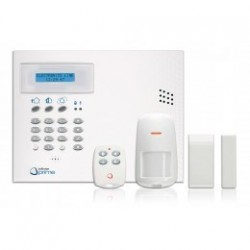 INFINITE KIT CENTRAL + TRANSM GSM + 1 DETECT + 1 CONTACT + 1 TELECO