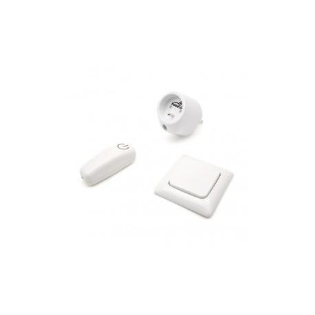 SWIID SwiidPack Normalen, weißen schalter abgerundet und stecker-typ E (Frankreich)