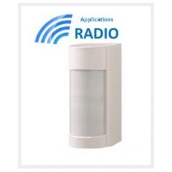 VXIRDAM - Rilevatore di accessori esterni optex doppio IRP 12M a 90° basso conso IP55 ANTI-MASK