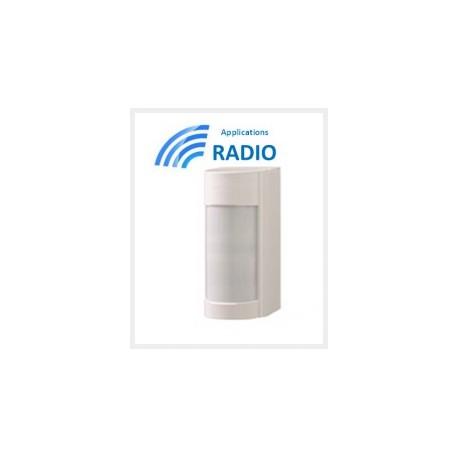 VXIRDAM - Detektor außerhalb EINBEINSTATIV dual-PIR-12M 90° niedrige conso IP55 ANTI-MASKE