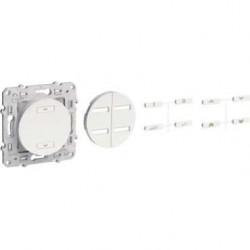 Radio receiver blind anthracite ODACE-SCHNEIDER