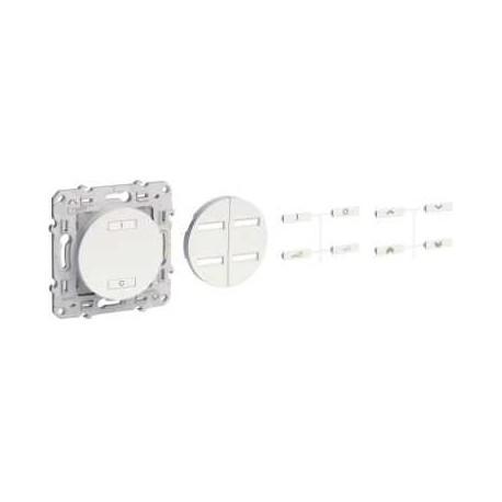 Receptor de Radio de 2 o 4 botones DE encendido / APAGADO blanco ODACE-SCHNEIDER