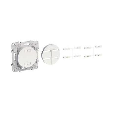 Conmutador de radio inalámbrica de 2 o 4 botones de accionamiento de velocidad variable SCHNEIDER Antracita ODACE