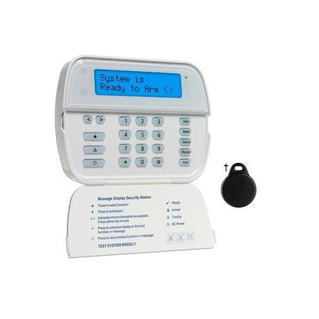 Tastatur, radio, LCD-leser DSC-WT5500P