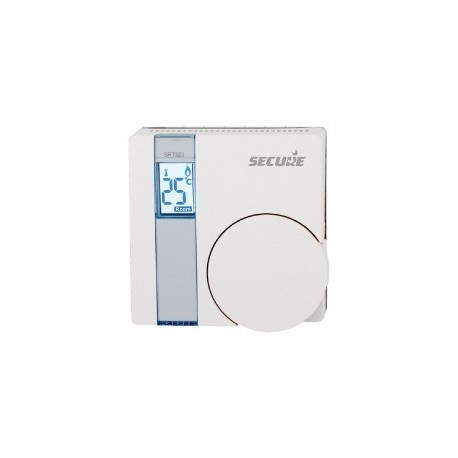 Secure SRT323 - Thermostat SRT323 (GEN5) avec écran LCD Z-Wave Plus et relais